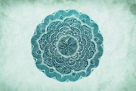 Mandala Stoffstempel