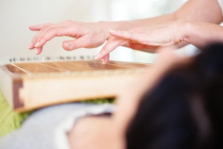 Reiki Entspannungsbehandlung Körpervorderseite